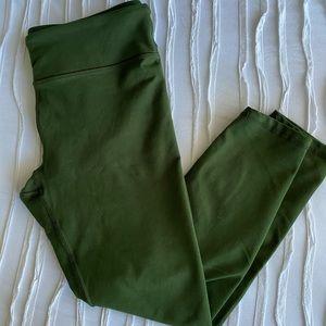 Fabletics Powerhold Green Legging